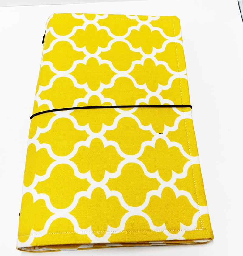 Mustard Yellow Pattern Journal