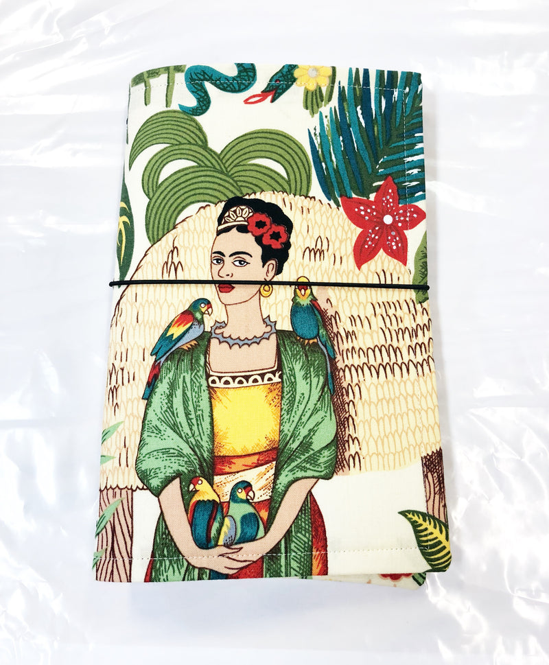 Frida with Parrot Journal