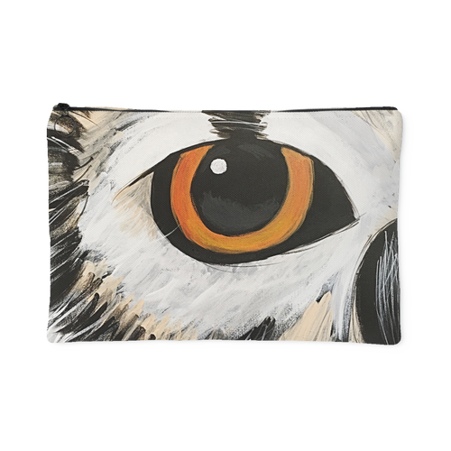 Owl Eye Accessory Pouch