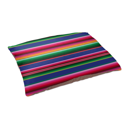 Serape Pattern Pet Bed