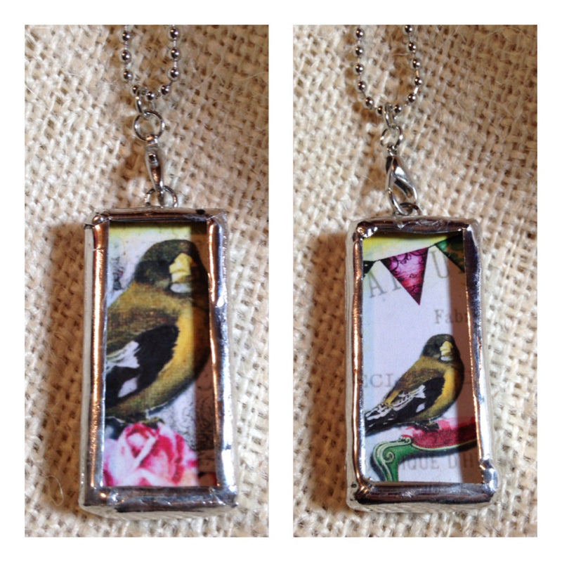 Party Bird Pendants | Soldered Jewelry