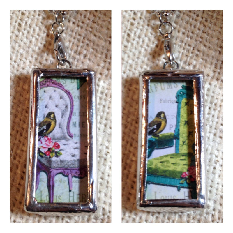 Bird Pendant | Glass Pendant | Custom Pendant