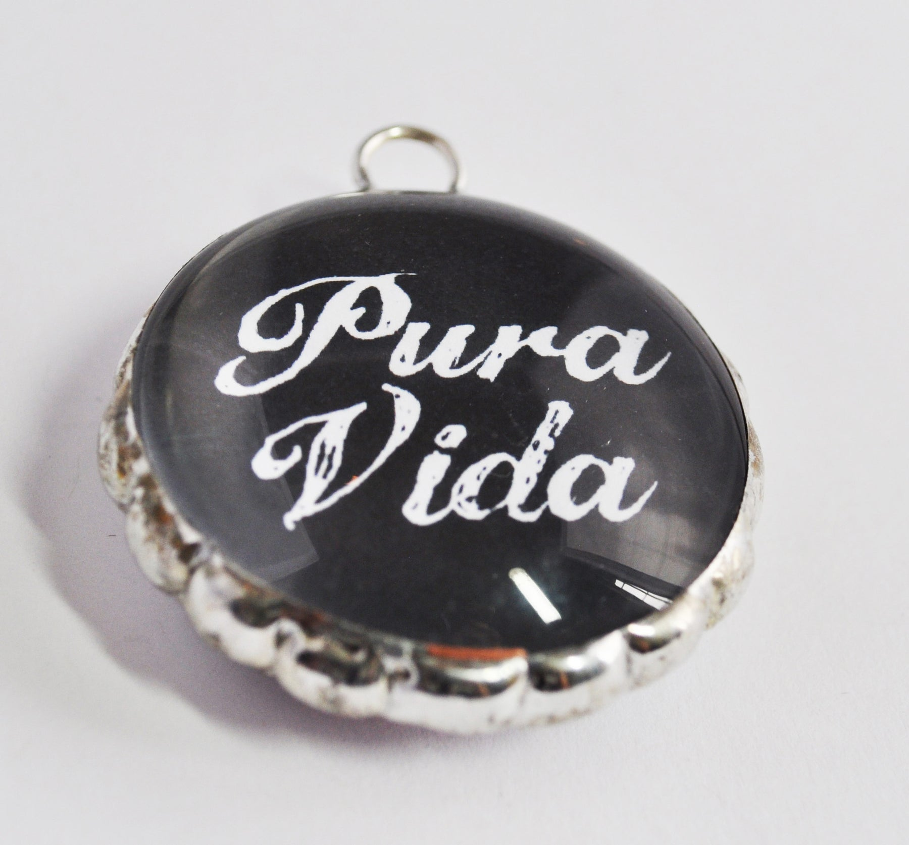Mexican necklace vintage jewelry soldered pendant aloadofball Images