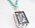 Faith Necklace | Positive Jewelry | Custom Necklace Pendants