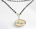 Blessed Necklace | Positive Jewelry | Custom Necklace Pendants