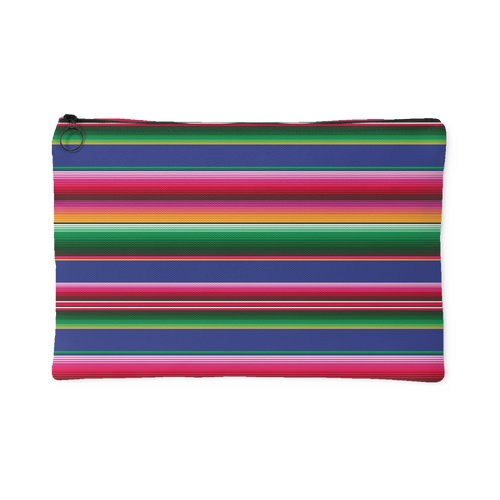 Serape Pattern Accessory Pouch