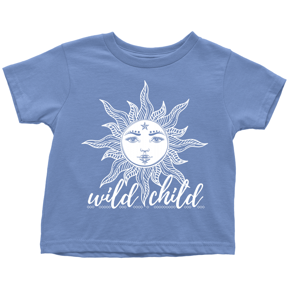 Wild Child Toddler T Shirt The Funky Soul By Urban Rustic Market