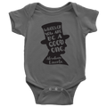 Abraham Lincoln Quote Onesie (Black Design)