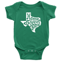 Home Sweet Home Texas Baby Onesie