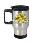 Yellow Rose of Texas Travel Mug