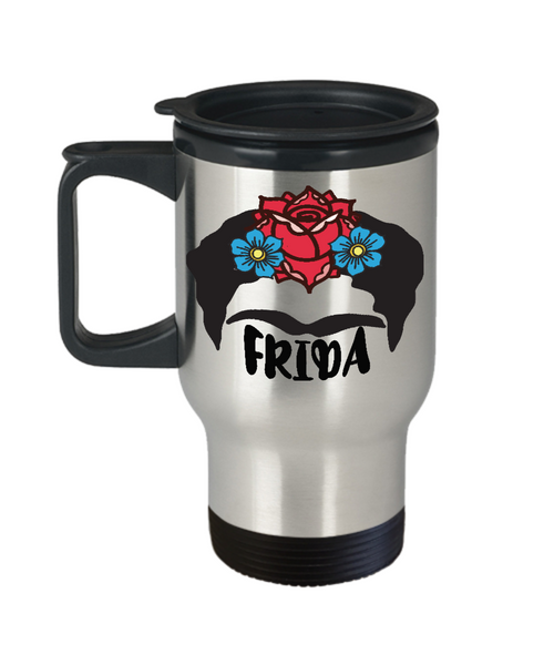 Frida Kahlo Travel Mug
