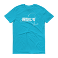Brooklyn Short Sleeve T-Shirt (White Graphic)