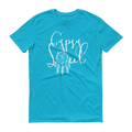 Gypsy Soul White Graphic Short Sleeve T-Shirt