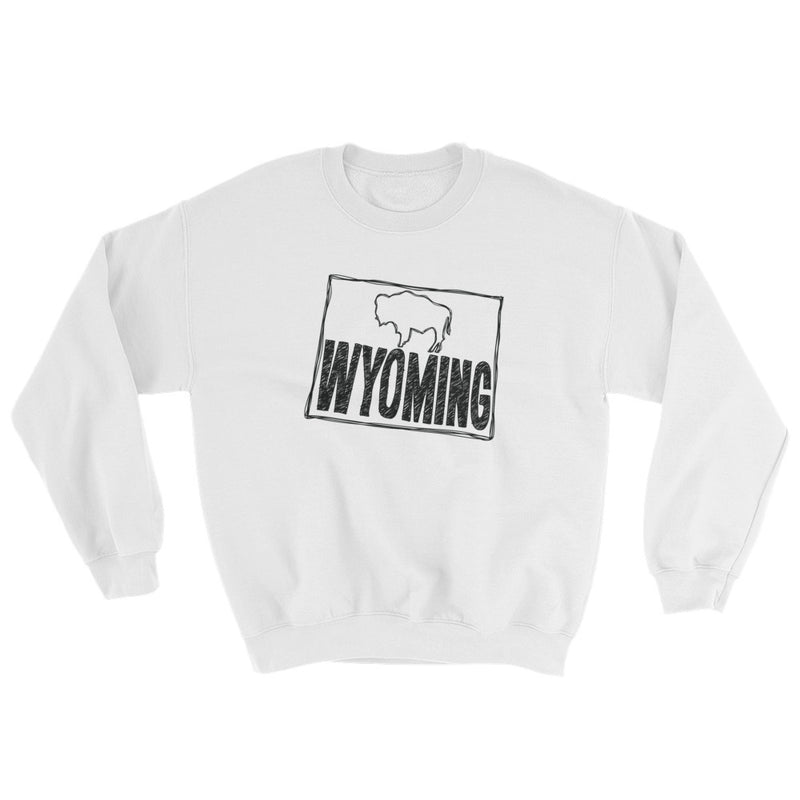 Wyoming Sweatshirt (Black Text)