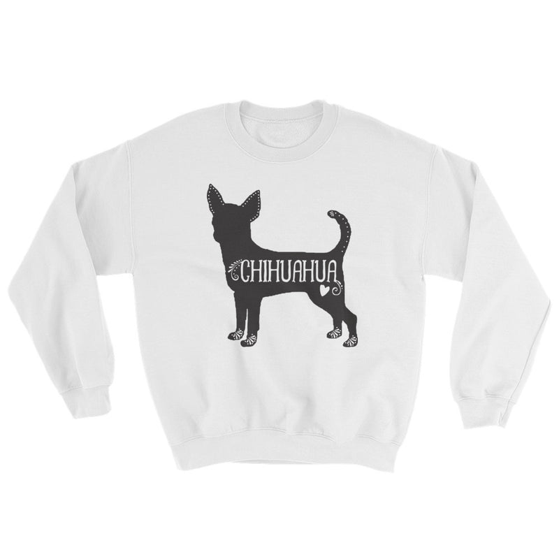 Chihuahua Sweatshirt (Black Design)