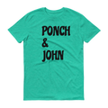 Ponch and John Short Sleeve T-Shirt