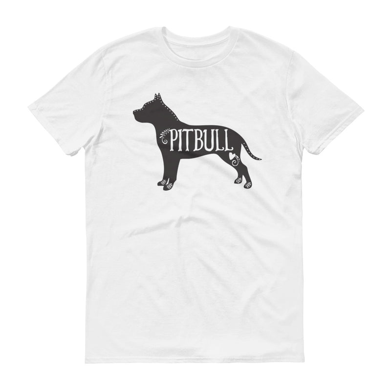 Pitbull T-Shirt, Pitbull Dog Breed Tee, I Love My Pitbull