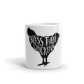 Bless Them Chickens Mug