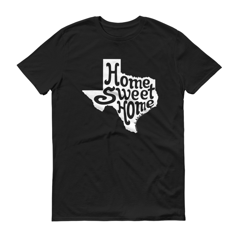 Home Sweet Home White Graphic Short Sleeve T-Shirt
