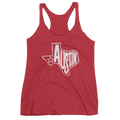 Austin, Texas Women's Tank Top (White Graphic)