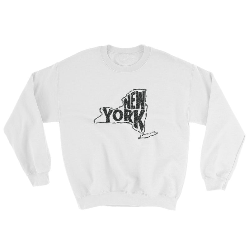 New York Sweatshirt (Black Text)