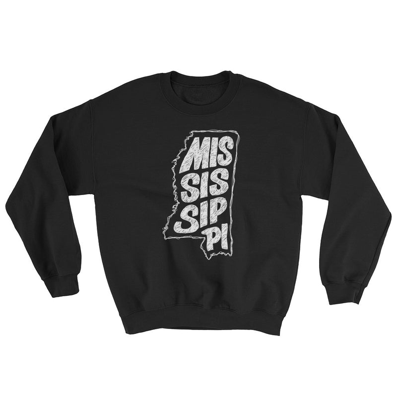 Mississippi Sweatshirt (White Text)