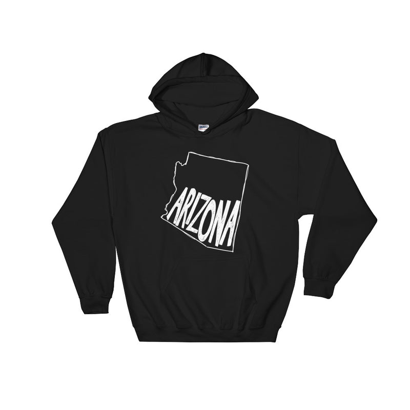 Arizona (White Text) Hooded Sweatshirt
