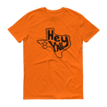 Texas Hey Y'all Black Graphic Short Sleeve T-Shirt