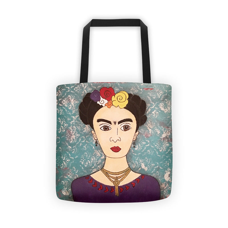 Frida Kahlo Tote Bag, Frida Tote, Kahlo Bag