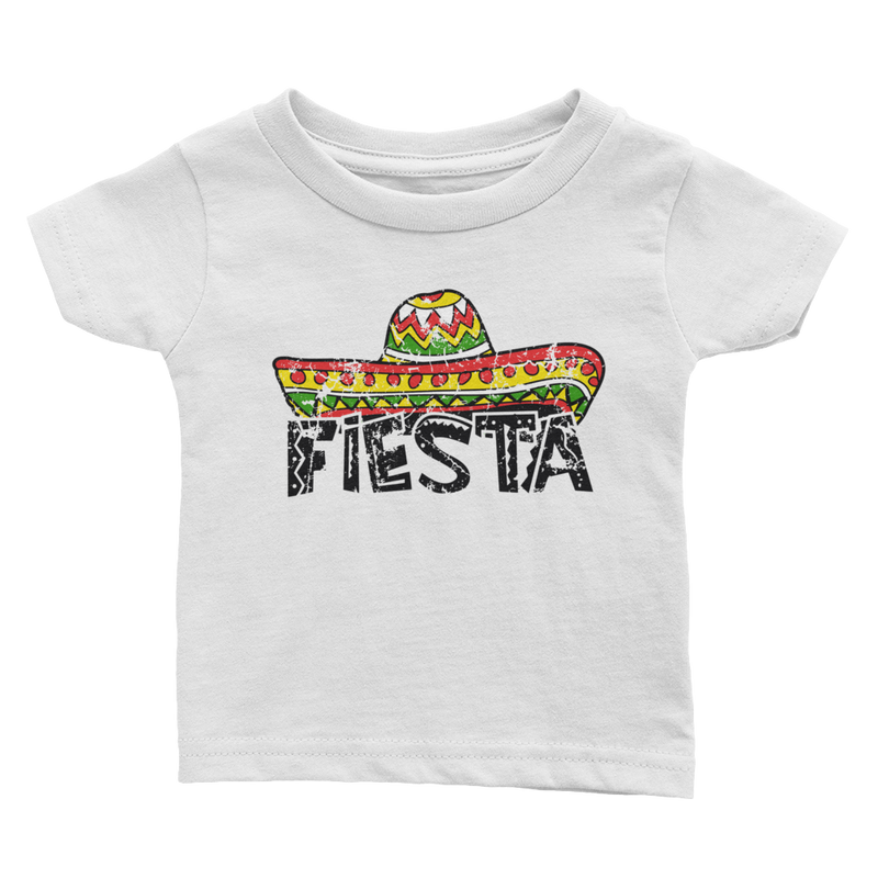 Fiesta Infant Tee (Colored Graphic)