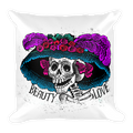 Catrina Colorful Square Pillow