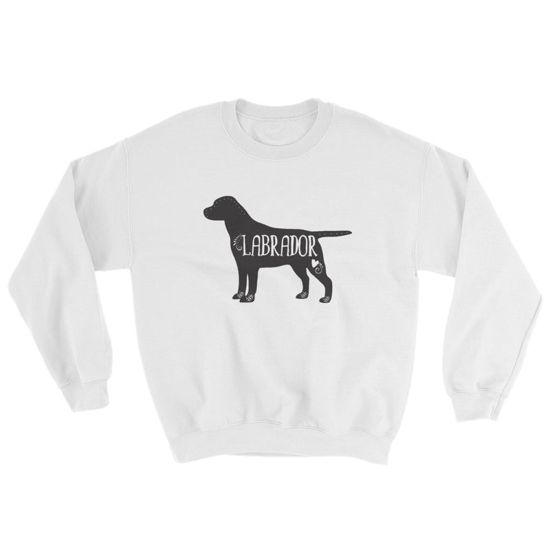 Labrador Sweatshirt (Black Design)