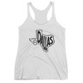 Dallas, Texas Women's Tank Top (Black Graphic)