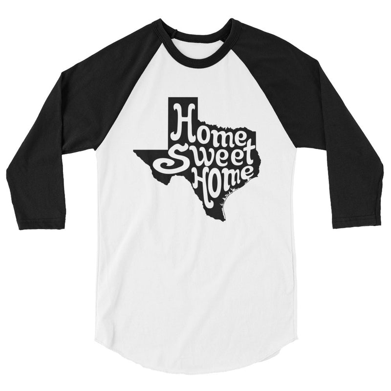 Home Sweet Home 3/4 Sleeve Raglan Shirt