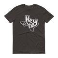Texas Hey Y'all White Graphic Short Sleeve T-Shirt
