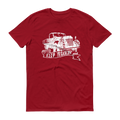 Keep Truckin' White Graphic Short Sleeve T-Shirt