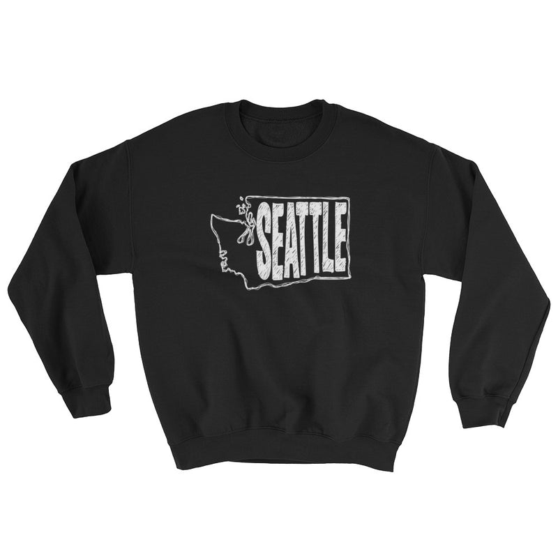 Seattle Sweatshirt (White Text)
