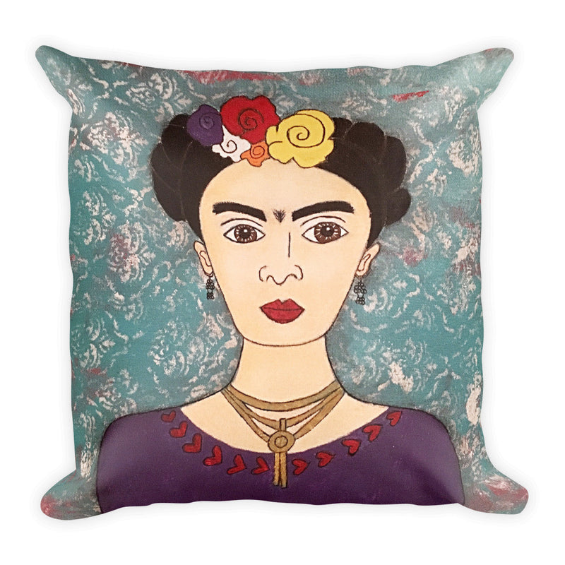 Frida Square Pillow