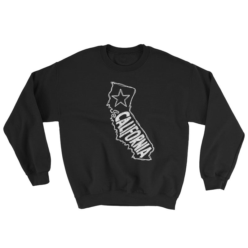 California Sweatshirt (White Text)
