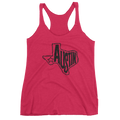 Austin, Texas Women's Tank Top (Black Graphic)