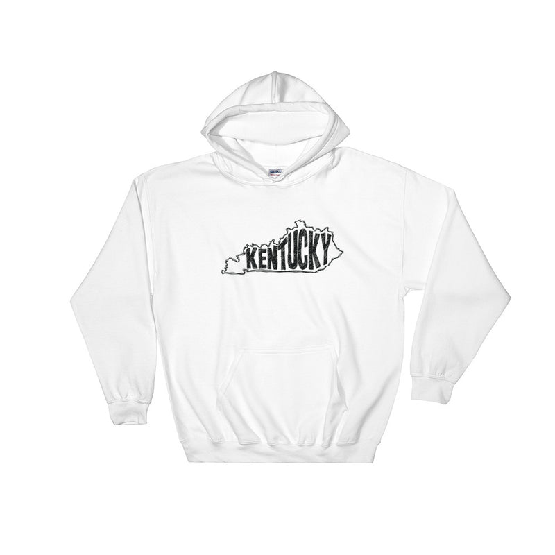 Kentucky Hooded Sweatshirt (Black Text)
