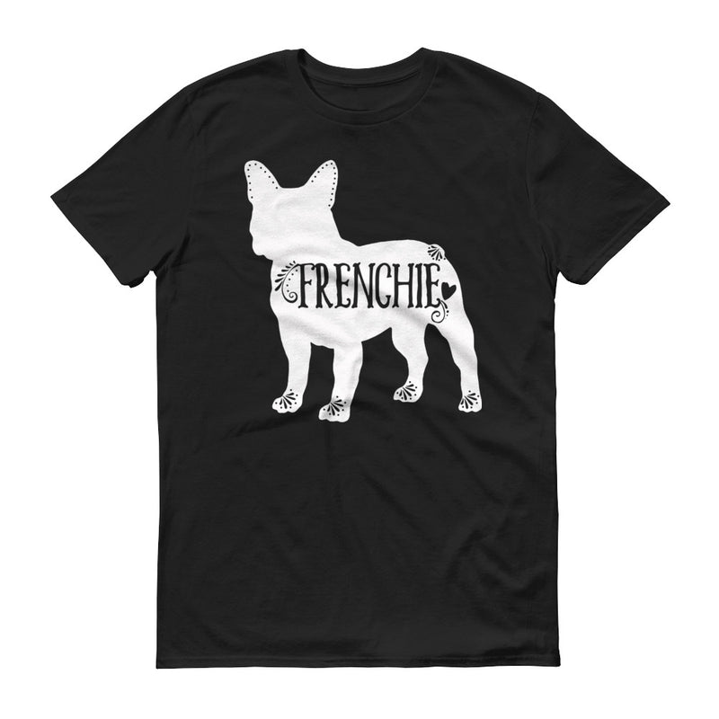 Frenchie T-shirt, French Bulldog Tee, I Love My Frenchie
