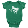 Hey Y'all Texas Baby Onesie