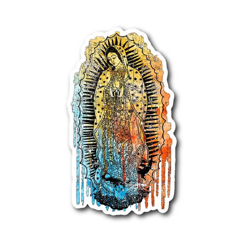 Virgen de Guadalupe Die Cut Sticker