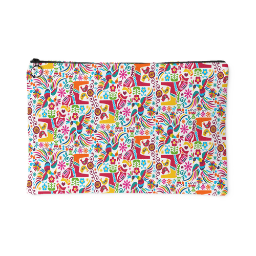 Mexican Otomi Accessory Pouch