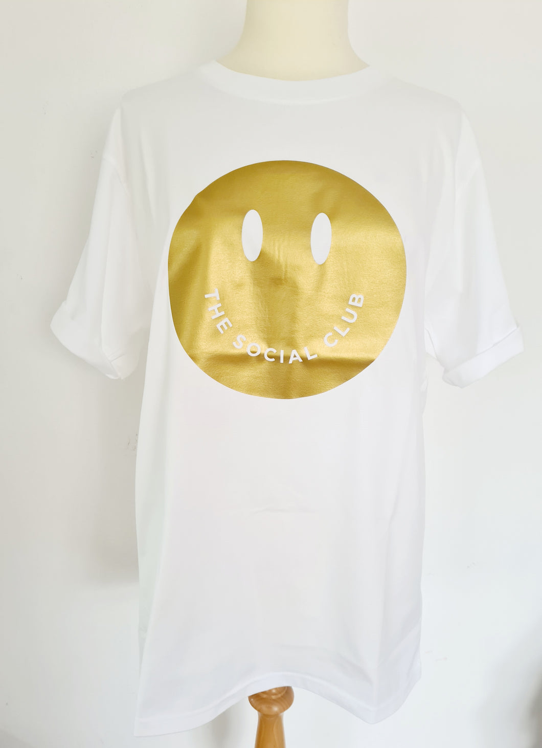 ADULT SOLID 'GOLD' SMILEY TSHIRT