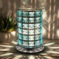 Silver and Teal Electric Wax Melter