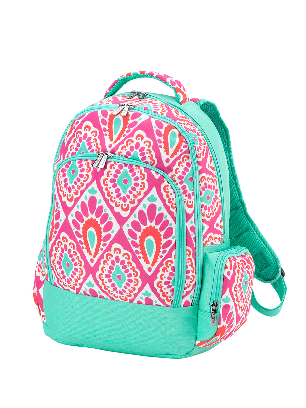 Hot Pink Paisley Backpack
