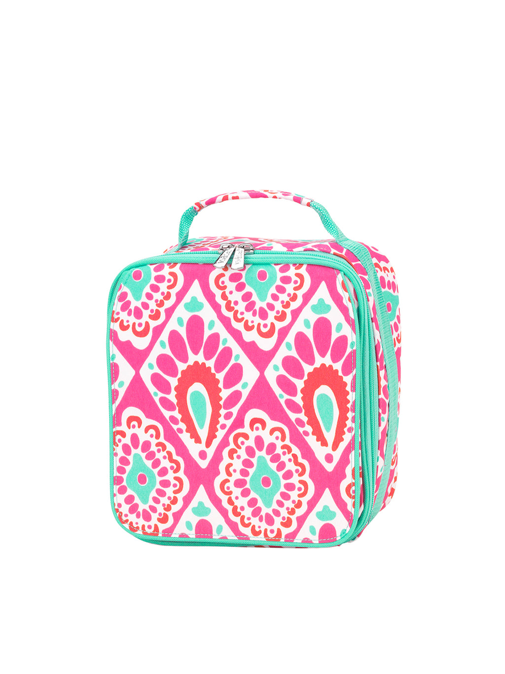 Hot Pink Paisley Lunch Box