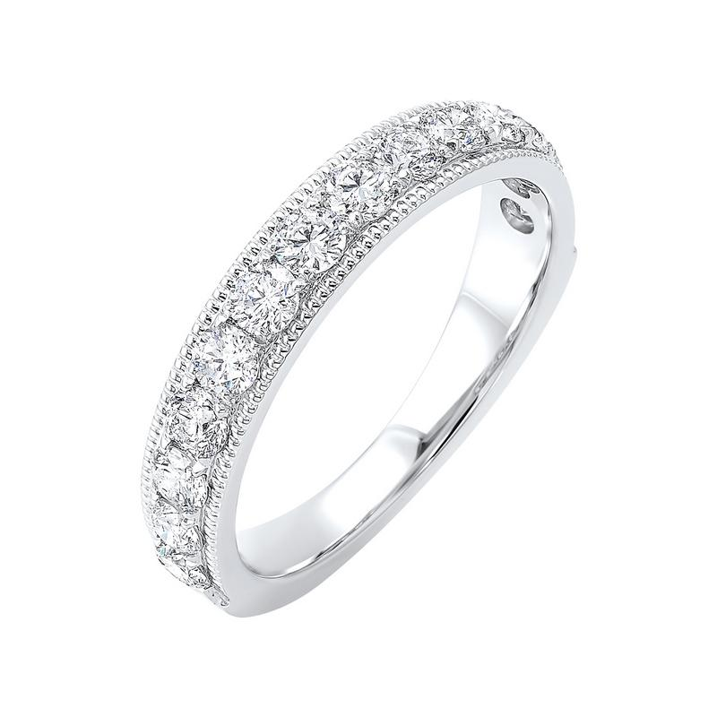 14K White Gold Overtures Micro Prong Diamond Ring (1/6 ct. tw.)